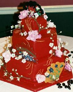 Свадебный торт в китае свадебные