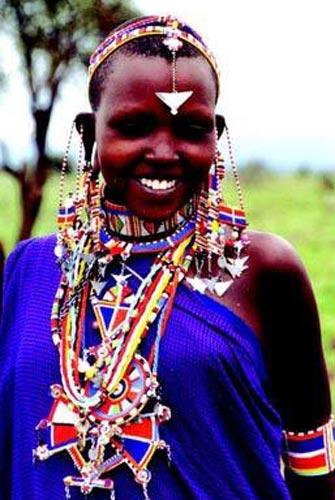 Кенийская невеста. Свадебные традиции народов мира - Африка - Намибия, Эфиопия, Кения.