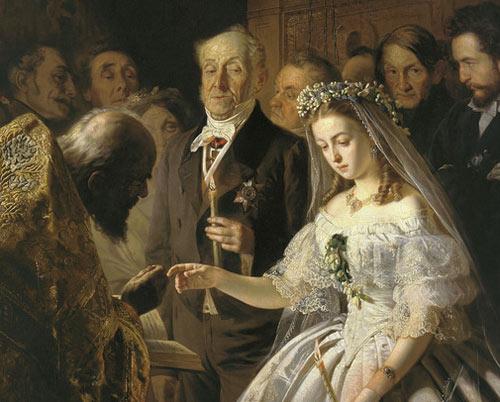 В в пукирев неравный брак молодожены