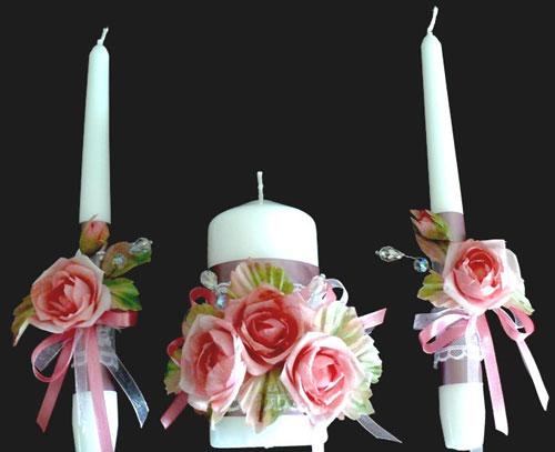 Свечи для обряда. Ритуал передачи семейного очага.