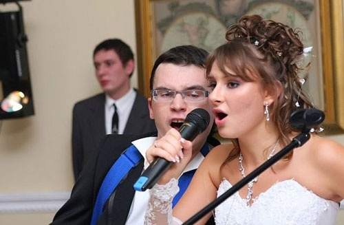 Подбор песен на свадьбу