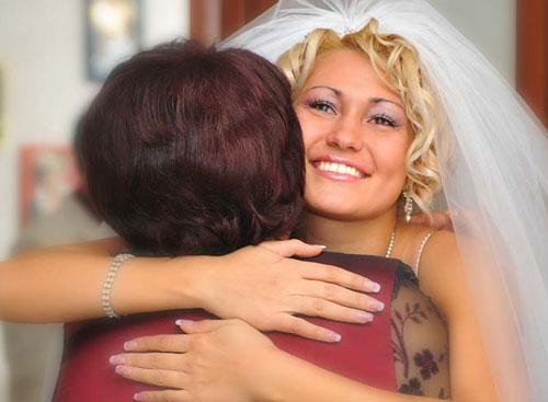 Слова маме на свадьбе