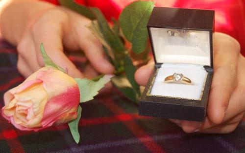 Как сделать девушке предложение и какое кольцо