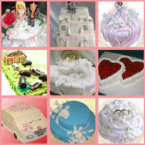Торты украшение свадебных тортов