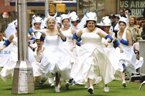 Невесты спешат под венец мотивы
