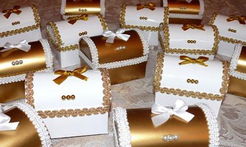 Бонбоньерки на свадьбу в виде