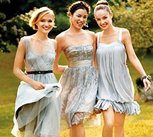 Фотосессии подруг в платьях
