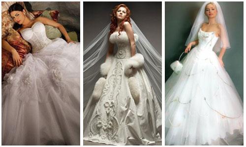 Романтические свадебные платья.  Самые красивые платья невест.