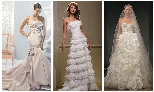 Модные свадебные платья.  Самые красивые платья невест.