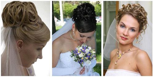 Зачіски з фатою фото зачіски з фатою
